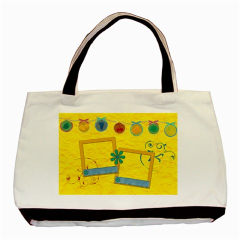 Summers Burst Tote 2 By Lisa Minor   Basic Tote Bag   K88v7wobu7o8   Www Artscow Com Front