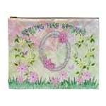Spring flower floral XL Cosmetic Bag - Cosmetic Bag (XL)