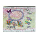 Spring flower floral Our Baby XL Cosmetic Bag - Cosmetic Bag (XL)
