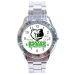 watch for Thomas - Stainless Steel Analogue Watch
