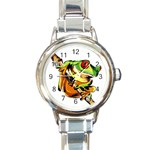 Angela tree watch - Round Italian Charm Watch