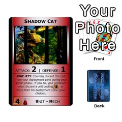Battletech 2 By Jay Waschak   Playing Cards 54 Designs   Sydlp2hj785m   Www Artscow Com Front - Heart5