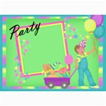 Birthday  post cards 2 - 5  x 7  Photo Cards
