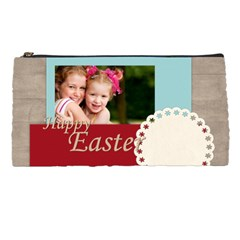 Happy Easter By Joely   Pencil Case   6dl14rrcz5hu   Www Artscow Com Front