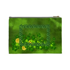 Lucky Cosmetic Bag (l) By Elena Petrova   Cosmetic Bag (large)   Jpsrjgf8xdhp   Www Artscow Com Back