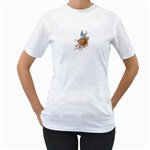 Bluebird and Nest Women s T-Shirt