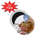 Bluebird and Nest 1.75  Magnet (10 pack)