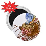 Bluebird and Nest 2.25  Magnet (10 pack)