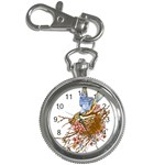 Bluebird and Nest Key Chain Watch