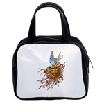 Bluebird and Nest Classic Handbag (Two Sides)