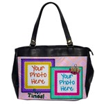 Fun Times - Oversize Office Bag - Oversize Office Handbag (One Side)