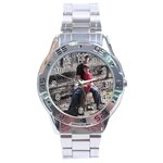 Andrews watch - Stainless Steel Analogue Men's Watch