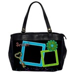 Smile! Oversized Office Bag - Oversize Office Handbag (One Side)