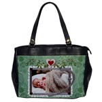 Heart Framed Oversize Office Handbag