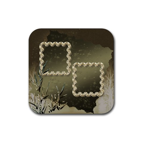 Neutral Shiny Square Rubber Coaster By Ellan   Rubber Coaster (square)   Ap64uqv12j9v   Www Artscow Com Front