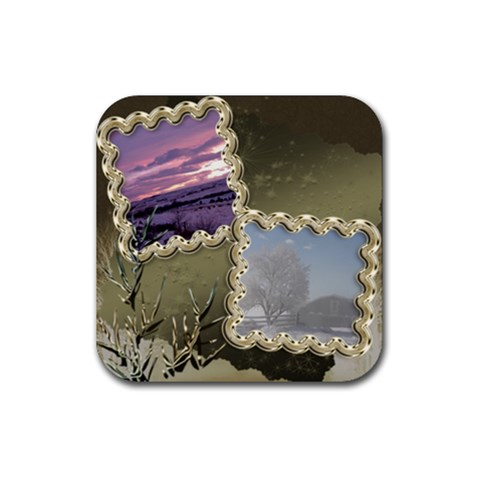 Sunset By Ellan   Rubber Coaster (square)   5cedi465ei6g   Www Artscow Com Front