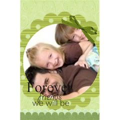 Forever Friends By Joely   5 5  X 8 5  Notebook   Rf532yqdyft3   Www Artscow Com Front Cover