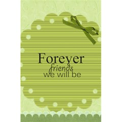 Forever Friends By Joely   5 5  X 8 5  Notebook   Rf532yqdyft3   Www Artscow Com Back Cover
