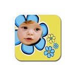 Little Boy Coaster - Rubber Coaster (Square)