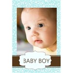 Baby boy - 5.5  x 8.5  Notebook