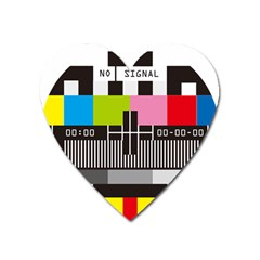 Tv Magnet (Heart) by Watch