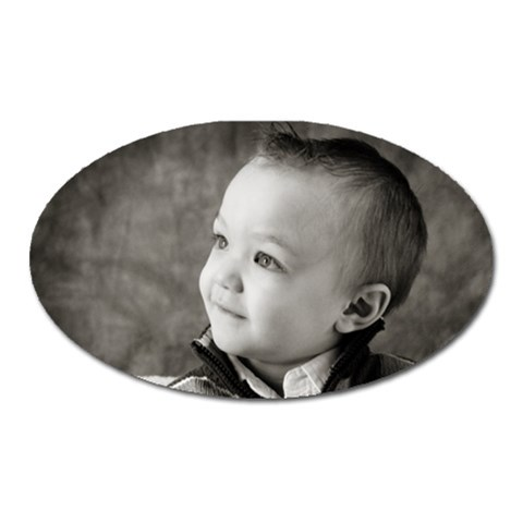 Ethan Oval By Sjinks Gmail Com   Magnet (oval)   Hgcsb1jyhlgr   Www Artscow Com Front