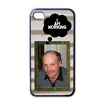 I m workin Iphone 4 skin - Apple iPhone 4 Case (Black)