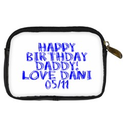 Dani By Daniella   Digital Camera Leather Case   Bu060343thlh   Www Artscow Com Back