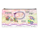 Spring flower floral Our Baby train lamb pencil case