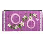 Spring flower floral purple pencil case