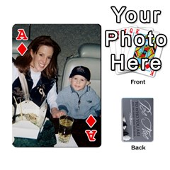 Ace Mother s Day By Ariel   Playing Cards 54 Designs   734z92sno238   Www Artscow Com Front - DiamondA