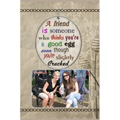 Friends Notebook By Lil    5 5  X 8 5  Notebook   G6j4zx6ycw7h   Www Artscow Com Front Cover
