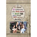 Friends Notebook - 5.5  x 8.5  Notebook