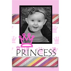 Princess Notebook By Amanda Bunn   5 5  X 8 5  Notebook   9tgufnoa1y8z   Www Artscow Com Front Cover