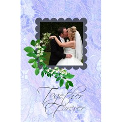 Together Forever Bridal Lace Notebook By Catvinnat   5 5  X 8 5  Notebook   6fdmp1vemql1   Www Artscow Com Front Cover