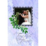 Together Forever Bridal Lace Notebook - 5.5  x 8.5  Notebook