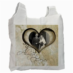 You & Me Always & Forever 2 Recycle Bag By Catvinnat   Recycle Bag (two Side)   Mlrn540qn2x8   Www Artscow Com Front