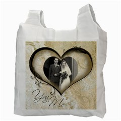 You & Me Always & Forever 2 Recycle Bag By Catvinnat   Recycle Bag (two Side)   Mlrn540qn2x8   Www Artscow Com Back