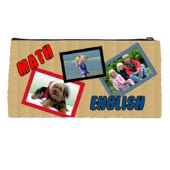 School Pencil Case By Deborah   Pencil Case   Punupqd29qmn   Www Artscow Com Back
