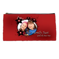 Our Family By Wood Johnson   Pencil Case   5fjjyvtmp0ls   Www Artscow Com Front