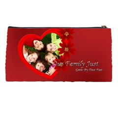 Our Family By Wood Johnson   Pencil Case   5fjjyvtmp0ls   Www Artscow Com Back