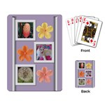 photo stack playing cards - Playing Cards Single Design