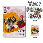Moments - Playing Cards 54 Designs