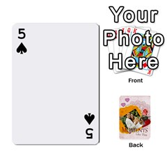 Moments By Joely   Playing Cards 54 Designs   5wgvjmfaoruf   Www Artscow Com Front - Spade5