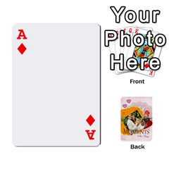 Ace Moments By Joely   Playing Cards 54 Designs   5wgvjmfaoruf   Www Artscow Com Front - DiamondA