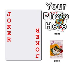 Moments By Joely   Playing Cards 54 Designs   5wgvjmfaoruf   Www Artscow Com Front - Joker2