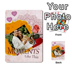 Moments By Joely   Playing Cards 54 Designs   5wgvjmfaoruf   Www Artscow Com Back