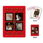 Wedding Thankyou Playing Cards - Playing Cards Single Design
