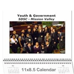 Yg Calendar By Polly   Wall Calendar 11  X 8 5  (12 Months)   Igmntrey8db2   Www Artscow Com Cover