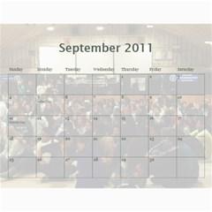 Yg Calendar By Polly   Wall Calendar 11  X 8 5  (12 Months)   Igmntrey8db2   Www Artscow Com Sep 2011